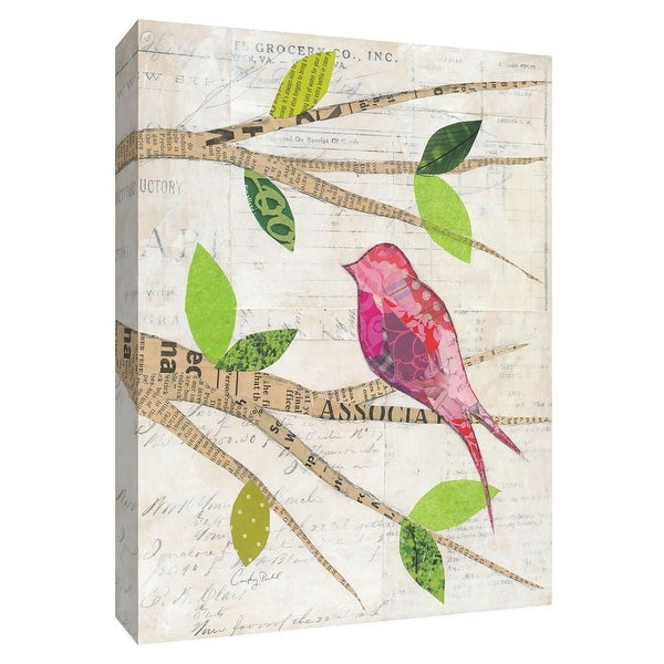 """PTM Images 9-154912 PTM Canvas Collection 10"""" x 8"""" - """"Birds in Spring IV"""" Giclee Birds Art Print on Canvas"""