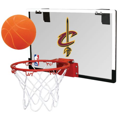 Rawlings NBA Game On Basketball Hoop and Ball Set (Cleveland Cavaliers)