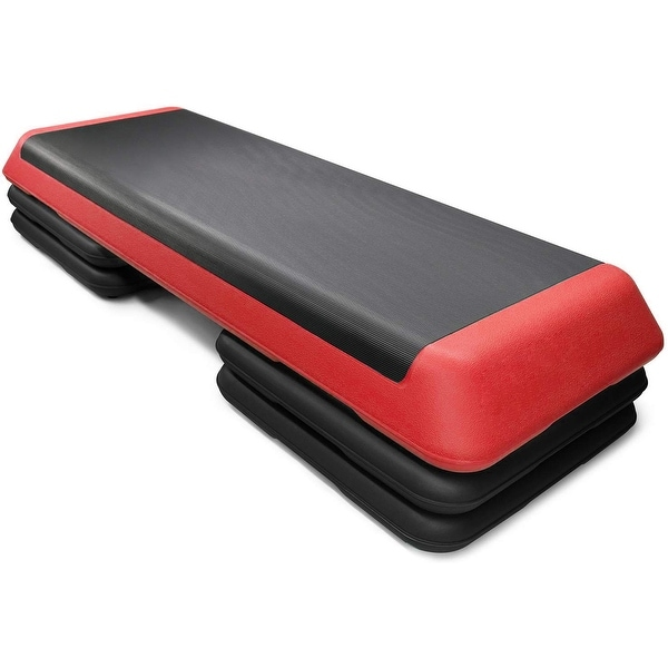 Costway Fitness Aerobic Step 43'' Cardio Adjust 4'' - 6'' - 8''. Opens flyout.