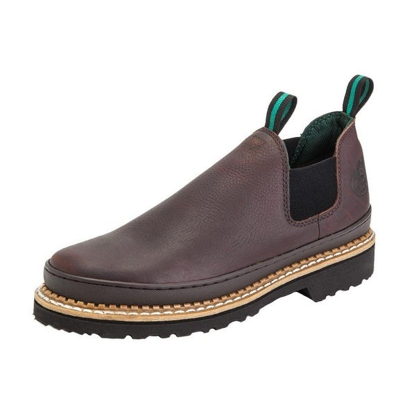 Georgia Boot Work Mens Giant Romeo Leather Light Soggy Brown