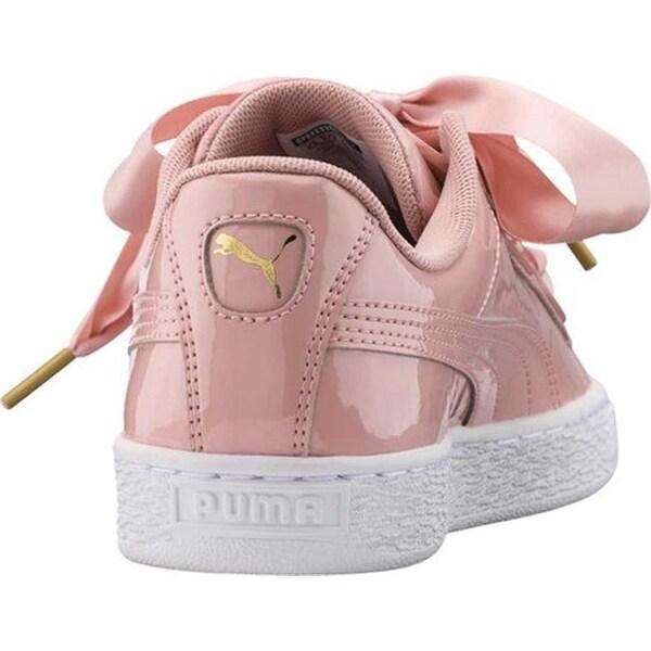 Shop Basket Sneaker Women's Heart Patent Peach Puma Beige rtshdCQx