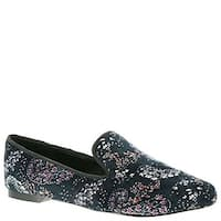 BCBGeneration Womens Justine Fabric Round Toe Loafers