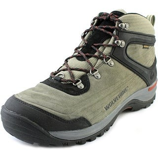 Wolverine Impact Mid-Cut Hiker Men EW Round Toe Suede Gray Hiking Boot