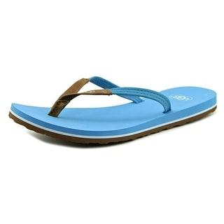 Ugg Australia Magnolia Open Toe Leather Flip Flop Sandal