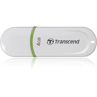 Transcend 4GB JetFlash 330 USB 2.0 Flash Drive - Green