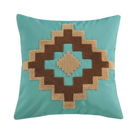 HiEnd Accents Aztec Outdoor Pillow, 20x20