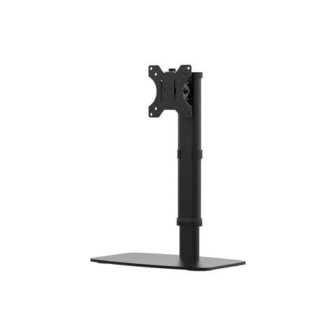 Monoprice Free Standing Single Monitor Desk Mount For Monitors Up To 27 Inches Easy Height-Adjustable - Workstream Collection