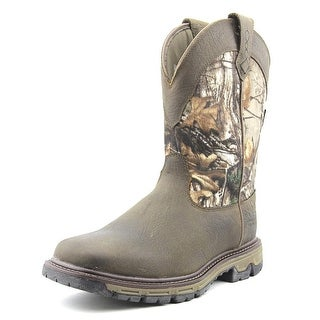 Ariat Conquest Pull On Men Round Toe Leather Hunting Boot