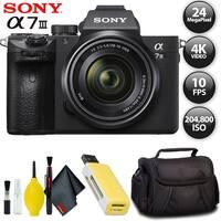 Sony Alpha a7 III Mirrorless Digital Camera International Model