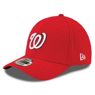 New Era Washington Nationals Baseball Cap Hat MLB Team Classic 39Thirty 10975391