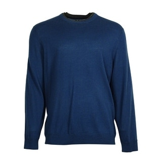 Club Room Men's Solid Color Merino Wool Blend Sweater - XxL