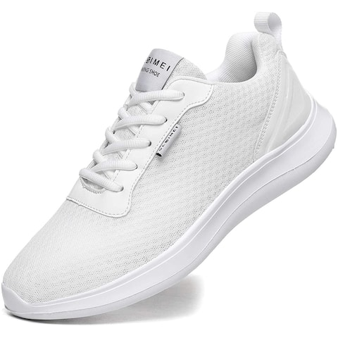 GESIMEI Men's Breathable Mesh Tennis Shoes Comfortable Gym Sneakers Lightweight Athletic Running Shoes - 7
