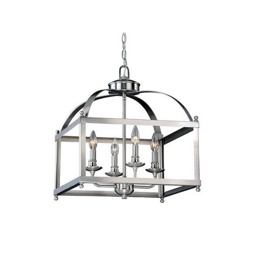 Vaxcel Lighting P0199 Juliet 4 Light Pendant with Shade
