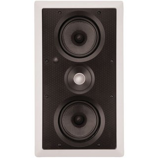 """ARCHITECH PS-525 LCRS Dual 5.25"""" Kevlar(R) LCR In-Wall Speaker"""