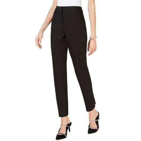 Alfani Women's Dress Pants Black Size 16X25 Embellished Ankle Stretch