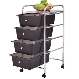 Shop Seville Classics Large 6 Drawer Storage Bin Organizer Cart