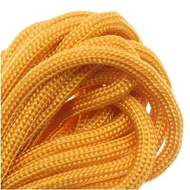 Paracord 550 / Nylon Parachute Cord 4mm - Goldenrod (16 Feet/4.8 Meters)
