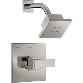 Delta T14267-H2O  Ara Monitor 14 Series Single Function Pressure Balanced Shower Trim Package with H2Okinetic Shower Head