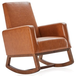 Link to Rocking Chair Upholstered High Back Armchair Padded Seat - standard Similar Items in Living Room Chairs