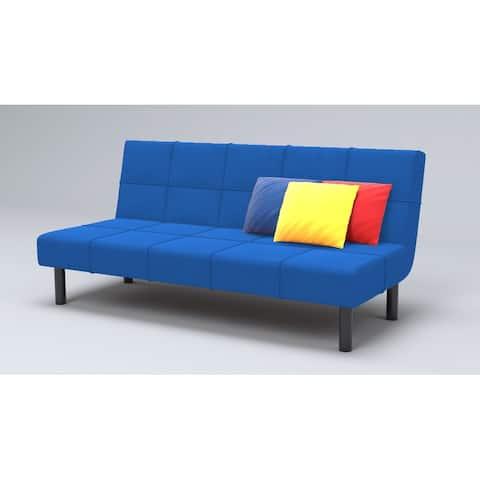 Metal Frame With Foam Seat 3 Seat Convertible Sleeper Sofa