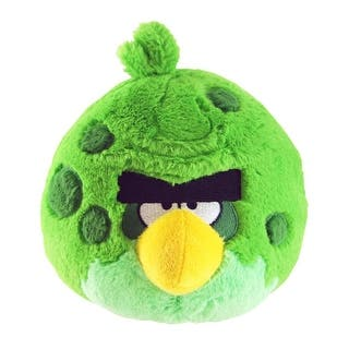 "Angry Birds 5"" Green Space Bird Plush Officially Licensed