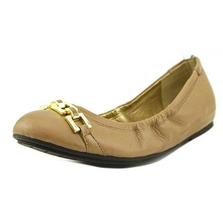 Me Too Taffy Women Round Toe Leather Ballet Flats