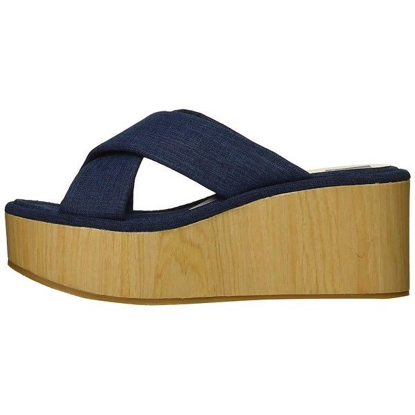 Dolce Vita Womens Vinita Open Toe Clogs