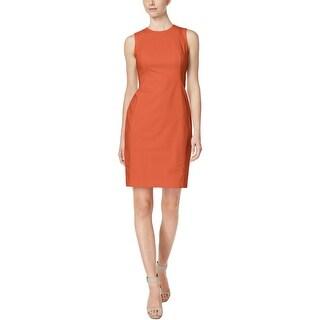 Calvin Klein Womens Wear to Work Dress Sleeveless Mini
