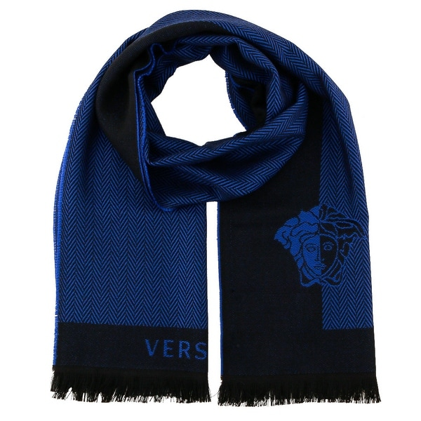 Versace IT00624 100% Wool Mens Scarf