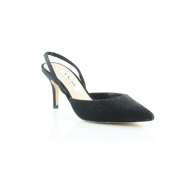 Nina Tracey Women's Heels Black Luna Shine - 5.5