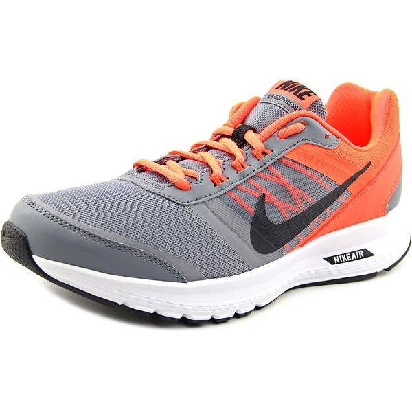 Shop Nike Air Relentless 5 MSL Men Round Toe Synthetic Gray Sneakers ... e18ca1e5d