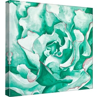 "PTM Images 9-99066  PTM Canvas Collection 12"" x 12"" - ""Abstract Succulent"" Giclee Succulents Art Print on Canvas"
