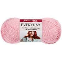 Deborah Norville Collection Everyday Solid Yarn-Baby Pink