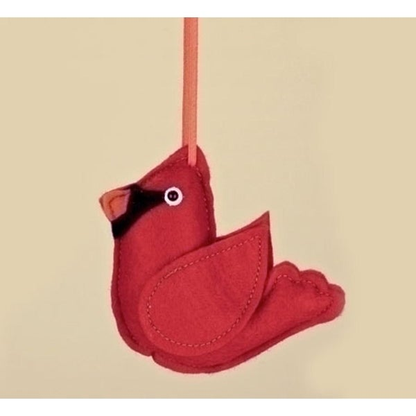 Shop 4 75 Plush Red Cardinal Stuffed Christmas Ornament Free