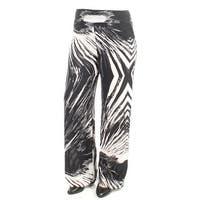 BAR III Womens Black Printed Pants  Size: XS