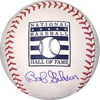 Bob Gibson signed Official Hall of Fame Logo Major League Baseball MLB Hologram St Louis Cardinals