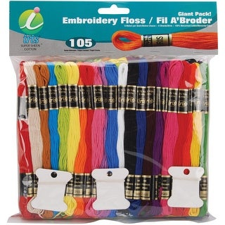 Embroidery Floss Giant Pack 8.7yd 105/Pkg-