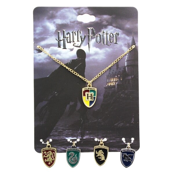Harry Potter House Crest Necklace