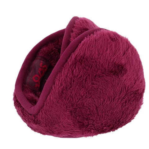 180s Women's Adjustable Lush Fleece Ear Warmers - one size