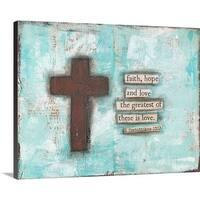 Cassandra Cushman Premium Thick-Wrap Canvas entitled Cross III