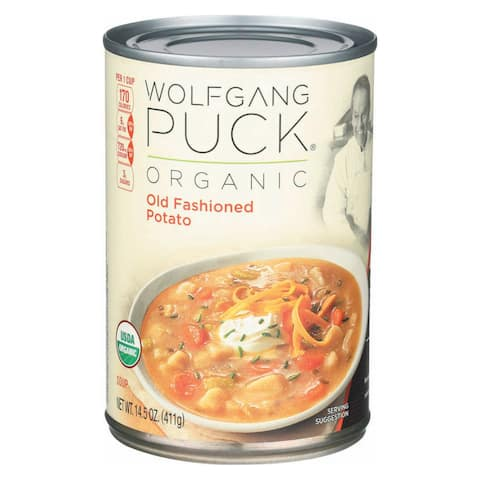 Wolfgang Puck Organic Old Fashioned Potato Soup - Case of 12 - 14.5 oz.