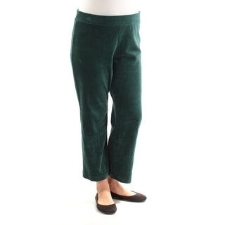 Womens Green Casual Lounge Pants Size L