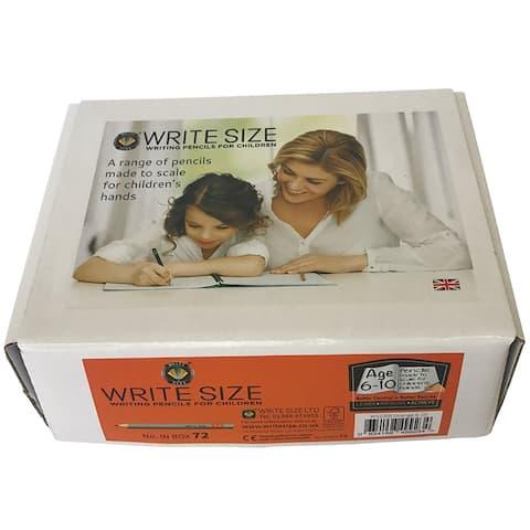 Write Size Pencils 4.75In 72 Box