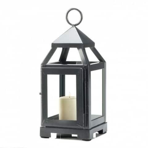 Silver Mini Modernized Lantern