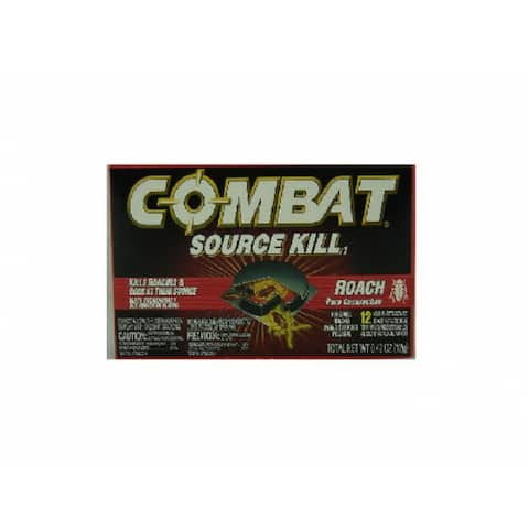 Combat 41910 Source Kill Roach Killing System, 12-Count
