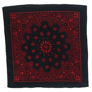 Link to CTM® 27 Inch Austin Paisley Print Bandana - one size Similar Items in Hair Accessories