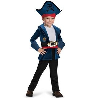 Disguise Captain Jake Classic Toddler Costume - Blue