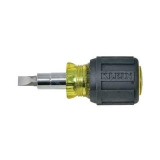 Klein 32561 Stubby Multi-Bit Screwdriver/Nutdriver, 3/16"