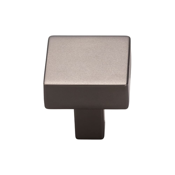 """Top Knobs TK740 Channing 1-1/16"""" Square Cabinet Knob from the Barrington Series"""