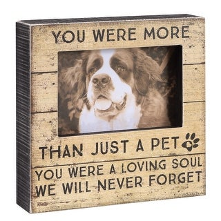 More Than A Pet Memorial Frame - In Memory Of Pet Picture Frame - 8 in. x 8 in.